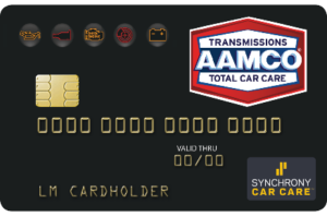 AAMCO Synchrony Car CareTM Credit Card